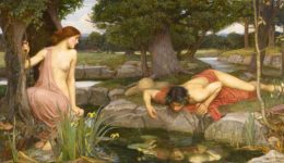 Echo et Narcisse image J.W. Waterhouse